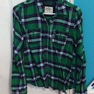 Abercrombie & Fitch button down flannel